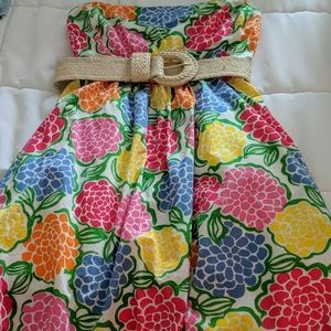 Lilly Pulitzer size 2 strapless dress